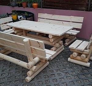 Przesyłki 2 zestawy mebli ogrodowych