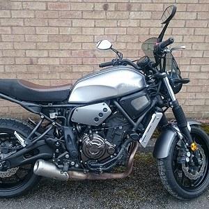 Przesyłki Yamaha XSR 700