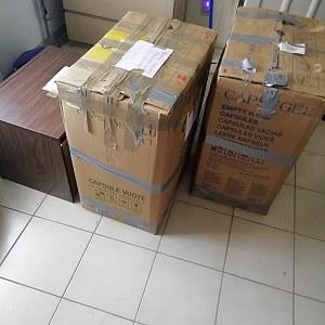 Przesyłki Stolik pod tv 15kg,,, karton 25kg,,,, karton 20kg,,,4 opony do auta