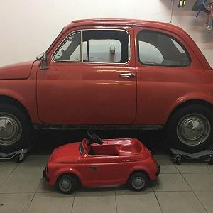 Przesyłki Fiat 500