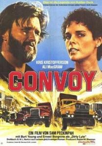 Konwój (Convoy)  Reżyseria: Sam Peckinpah, rok produkcji: 1978