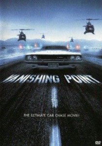 Znikający punkt (Vanishing Point). Filmy drogi.