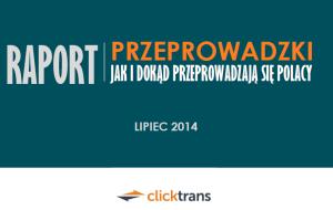 """Raport """"Przeprowadzki: jak i dokąd przeprowadzają się Polacy 2014″"""