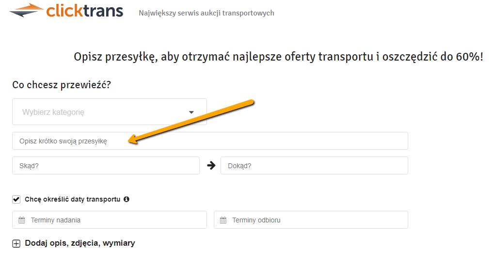 Jak Przetransportowac Rzeczy Kupione Na Olx Allegro Gratka Gumtree Pl Allegro Transport Przesylki Allegro Kurier Blog Clicktrans