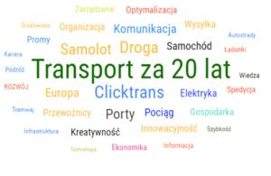 Jak będzie wyglądał transport za 20 lat?