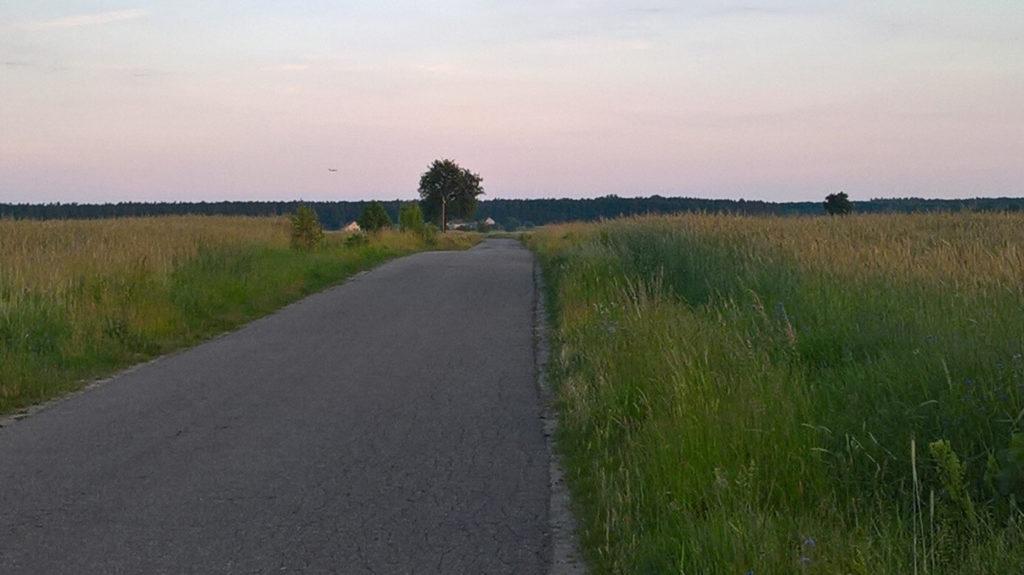 pomiechówek trasa rowerowa
