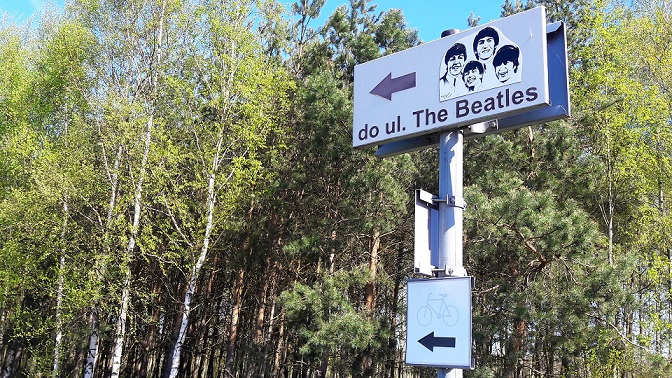 Ulica the Beatles