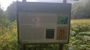 zamek radosno tablica informacyjna