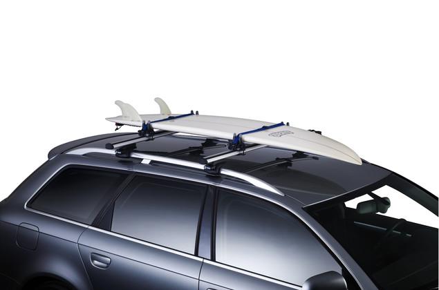 deska na dachu samochodu
