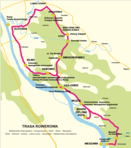 Trasa rowerowa kujwsko-pomorskie