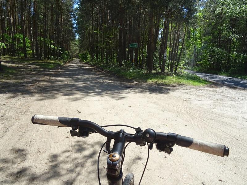 ścieżka rowerowa łódzkie