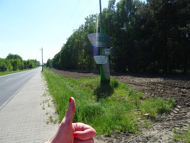 trasa rowerowa pabianice