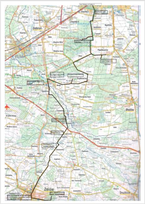 trasa rowerowa łódzkie mapa