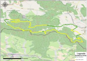 trasa rowerowa mieroszow nawierzchnia