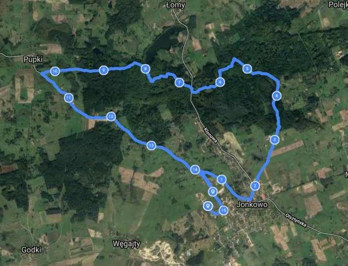 trasa rowerowa warmińsko-mazurskie
