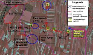 trasa rowerowa świętokrzyska mapa