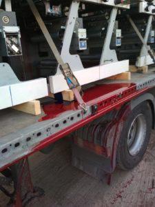 transport maszyn drukarskich