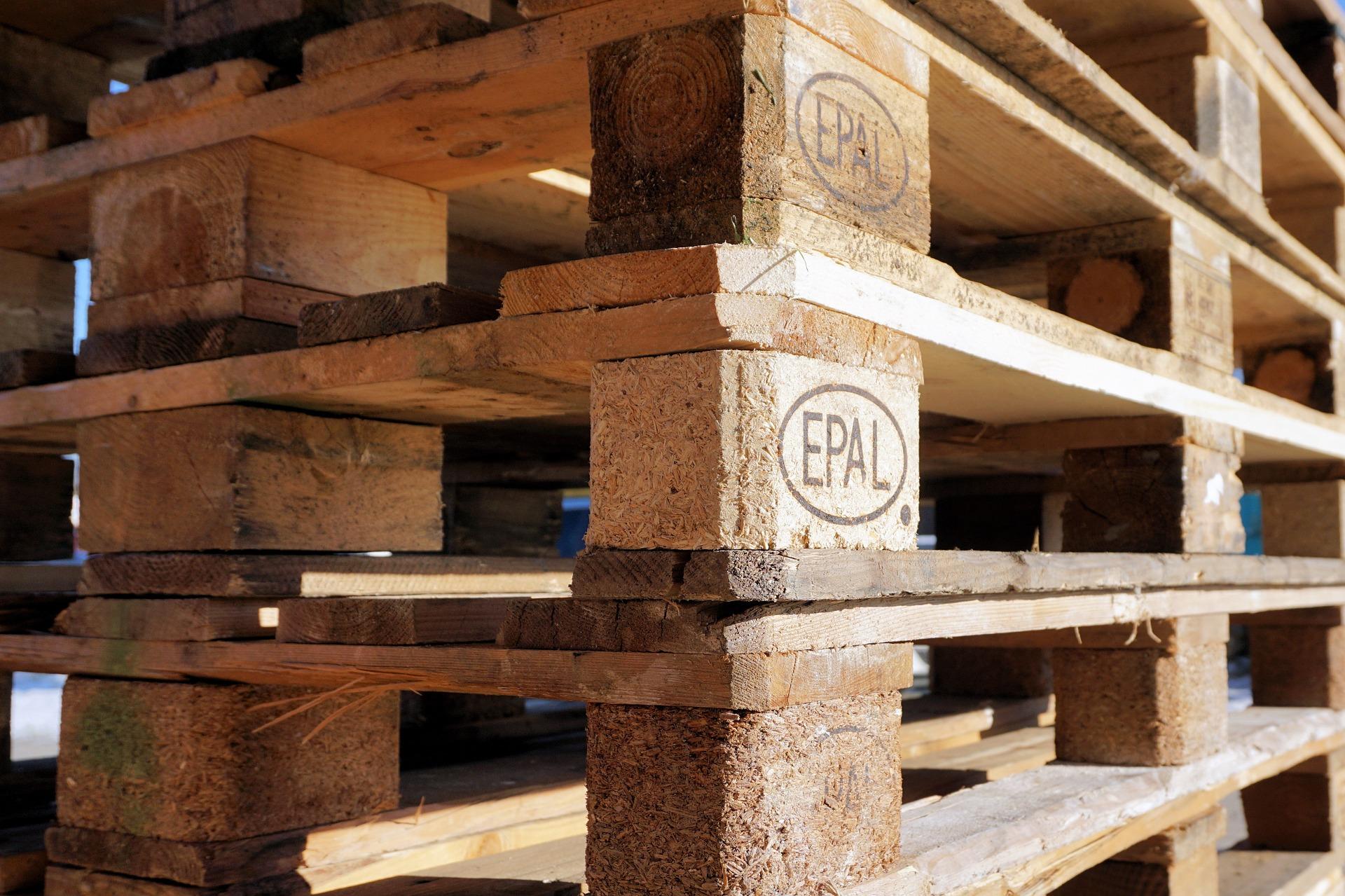 Europaleta drewniana
