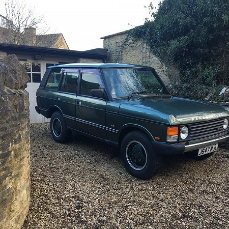 3.9l v8 Range Rover from 1992