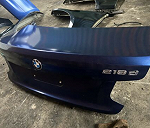BMW 2 series coupe rear lamp, boot lid and bumper bracket.